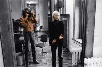 Artists' Portraits 1981: Alex Kayser & Andy Warhol 1974